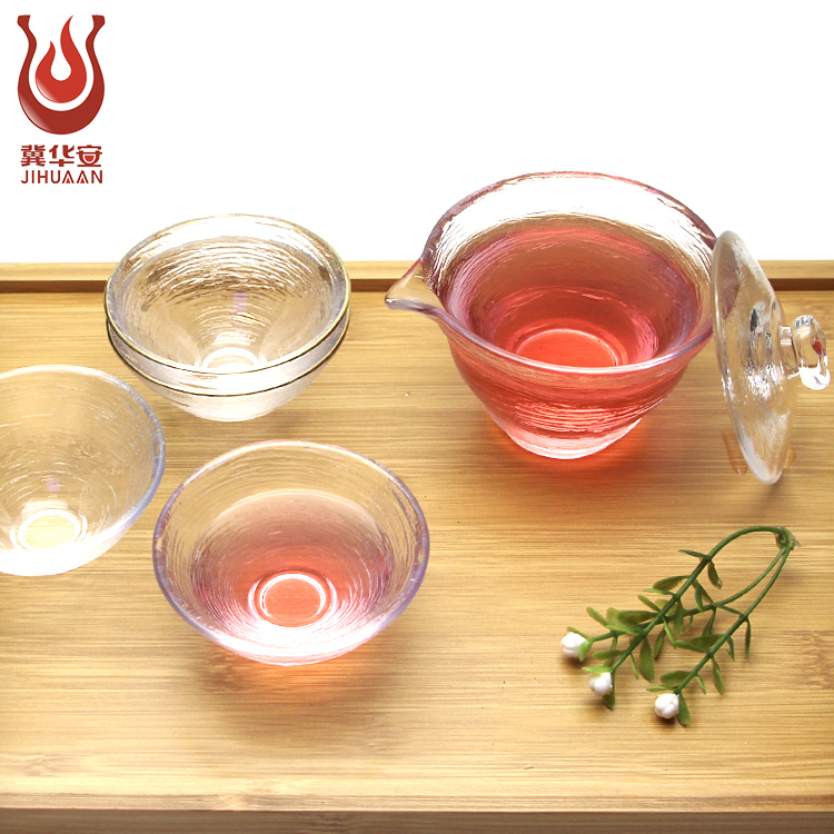Wholesale high quality in China Kung fu tea sets Artistic of Glass tea set chinese tea set