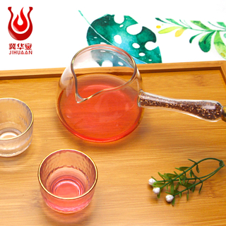 High Quality Borosilicate Heat Resistant Glass Fair Cup With Handle For Drinking Kung Fu Tea Utensils