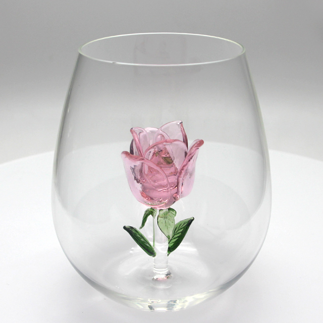 Wedding wine glass Valentine's Day gift
